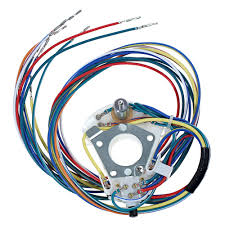 ford mustang electrical and wiring wiring harness cal mustang com turn signal switch 1967 mustang fixed steering column
