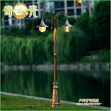 solar powered outdoor post lights post lights solar powered lighting for garden solar outdoor light post