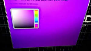 Scanner Light Bar Hack Building A Network Controllable Rgb Led Lamp From An Old