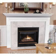 510 newport lifestyel fireplace painted white