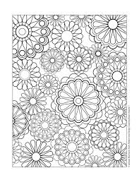 Design Patterns Coloring Pages Free Coloring