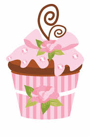 Photo By At Danimfalcao Pink Cup Cakes Clip Art Free Png Images
