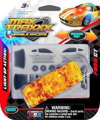 Light Up Marble Racer Max Traxxx Award Winning Ford Gt Light Up Marble Racer Gravity Drive 1 64 Scale Car