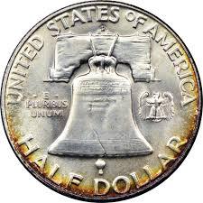 1959 Franklin Half Dollar Value Chart 1959 D 50c Ms Franklin Half Dollars Ngc