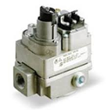 carrier gas valve. 24 volt thermocouple gas control valve used in many older furnace models (natural or carrier ,