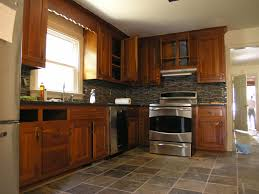 Stone Floors In Kitchen Slate Flooring Kitchen Slate Floors Glass Slate Backsplash