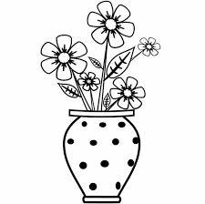 Come Disegnare Un Vaso Con Fiori Disegni Facili Per Bambini Da