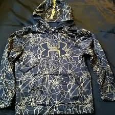 under armour youth hoodie. youth under armour hoodie black and yellow