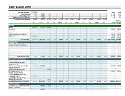 Excel. Budgeting Worksheet: How To Create A Monthly Budget Worksheet ...
