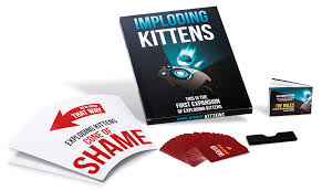 <b>IMPLODING KITTENS GREAT PARTY</b> GAME Perfect Birthday Gift ...