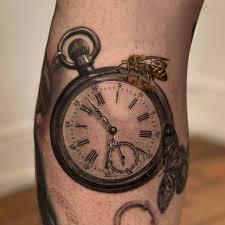 Time Draws татуировка часы татуировки и идеи для
