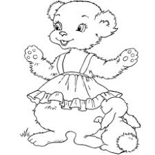 teddy bear coloring pages.  Teddy Coloring Page Of Girly Teddy Printables Throughout Bear Pages P