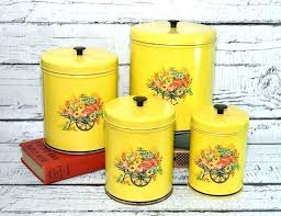 vintage kitchen canisters vintage kitchen canisters retro metal intended for the most awesome and gorgeous vintage metal kitchen canisters with regard to