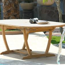 Teak Oval Dining Table Outdoor Oval Table Milano Extension Table