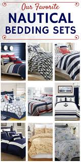 our favorite nautical bedding sets check out a full list of nautical themed comforter and quilt sets along with shams and duvet covers for your home on the