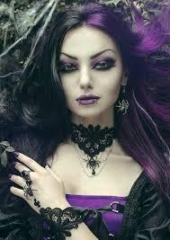 purple gothic makeup ideas