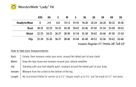 scrub size wonderwink nursing scrub size charts