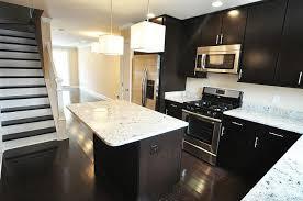 White Varnished Wood Cabinet Hardware Dark Wood Floors With White