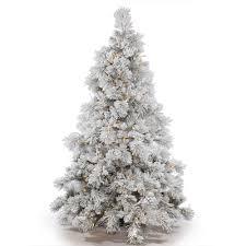 Flocked Christmas Tree Vickerman Pre Lit 9 Flocked Alberta Artificial Christmas Tree