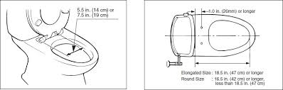 size of toilet seat. inax luscence dimensions size of toilet seat r