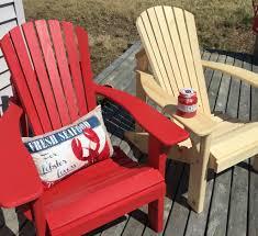 adirondack chair makeover