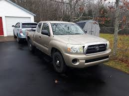 Bought my very first pickup truck; a manual transmission 2006 Toyota ...