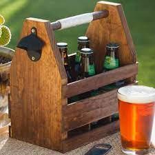 diy wooden beer caddy free