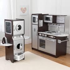 KidKraft Espresso Uptown Play Kitchen and Laundry Playset // Cocinita y  sala de lavado