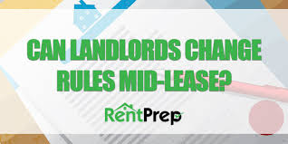 Lease Renewal Letter Interesting Can Landlords Change The Rules In MidLease RentPrep