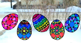 suncatchers stained glass egg adventure in a box suncatcher patterns easy
