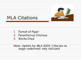 parenthetical citation in mla format how to write a citation in mla format homework help yyessaypwll