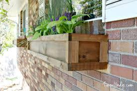 Diy Window Boxes Diy Window Garden Boxes