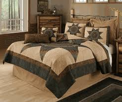 Forest Star Quilt Bedding Collection & Create a rustic atmosphere in your bedroom with the Forest Star Quilt  Bedding Collection. This bedding collection features a machine-quilted  large ... Adamdwight.com