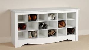 wooden shoe organizer