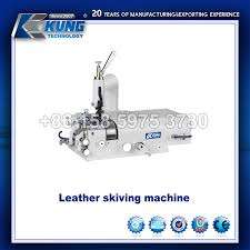 china leather skiving sewing machine manual with circular knife china leather skiving machine leather sewing machine