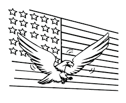 american flag coloring pages south