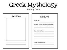 best greek mythology images greek mythology greek mythology trading cards