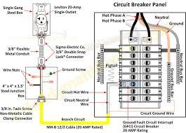 circuit breaker box diagram facbooik com Car Circuit Breaker Wiring Diagram circuit breaker wiring diagrams do it yourself help Main Breaker Panel Wiring Diagram