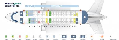 Boeing 737 700 Winglets Seating Chart Westjet Fleet Boeing 737 600 Details And Pictures