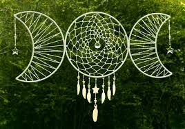 What Stores Sell Dream Catchers Triple Goddess Dream Catcher HM Artistic Creations 93