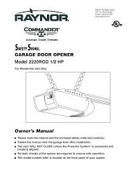 craftsman 1 2 hp garage door opener manual craftsman 1 2 hp garage door opener troubleshooting