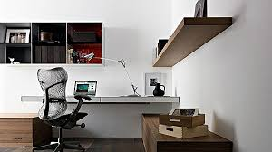 contemporary office desks for home. Unique Wall Mounted Home Office Desk: As Well Modern Long Desk Next Contemporary Impressive Desks For N