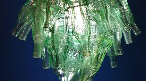 let there be light upcycled chandeliers give e bottles new life the coca cola company