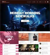 Event Website Template Delectable 28 Event Website Themes Templates Free Premium Templates
