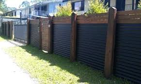 How to build sheet metal fence Iron Fence Corrugated Metal Fence Ideas Corrugated Iron Fence Panels Metal Fencing Ideas With Regard To Corrugated Metal Corrugated Metal Fence Viralexpressclub Corrugated Metal Fence Ideas Sheet Metal Fence How To Build