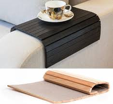 29 best sofa arm rest images on woodworking couches and intended for armchair tray table idea 12
