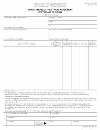 Atr Movement Certificate Template Certificate Of Origin Lc Co Coo