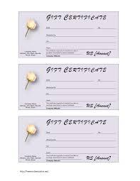 Printable Christmas Certificates Printable Christmas Gift Certificates Templates Free Sample Blank 69