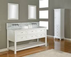 white vanity with gray top. With White Vanity Gray Top
