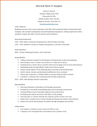 Word Resume Templates 2017 100 Resume Templates For Microsoft Word 100 Professional Resume 47